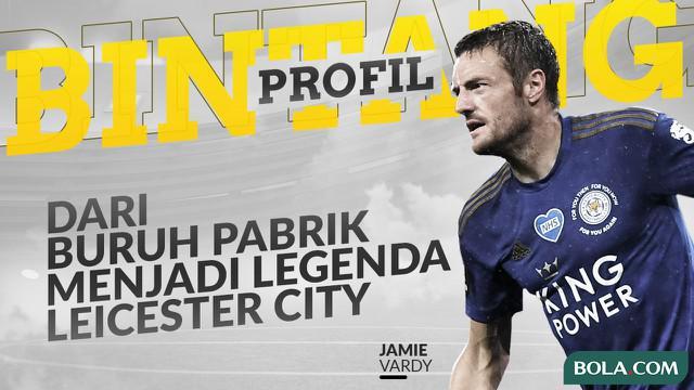 Berita video Profil Bintang Jamie Vardy, dari Buruh Pabrik sampai Legenda Leicester City dan Liga Inggris