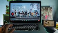 Layanan video streaming Telkomsel, Maxstream, merilis serial orisinal bertema Ramadhan dengan judul Sajadah Panjang. (Foto: Telkomsel)