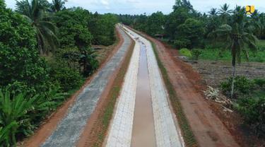 Pembangunan jaringan irigasi Baliase di Kabupaten Luwu Utara, Sulawesi Selatan