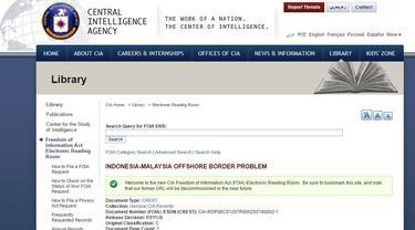 CIA rilis sejumlah dokumen rahasia