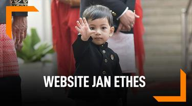 Wow, Jan Ethes Kini Punya Website