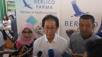 PT Berlico Mulia Farma, anak perusahaan Sido Muncul, memberikan santunan bagi 1.000 kaum duafa di Yogyakarta (Liputan6.com/ Switzy Sabandar)