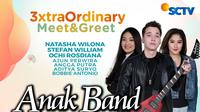 Anak Band gelar 3xtraOrdinary Meet & Greet secara vrtual dengan pemirsa, Sabtu (5/12/2020) mulai pukul 16.30 WIB live di Vidio