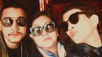 Oscar, Mario, dan Reggy Lawalata (Instagram/ oscarlawalata)
