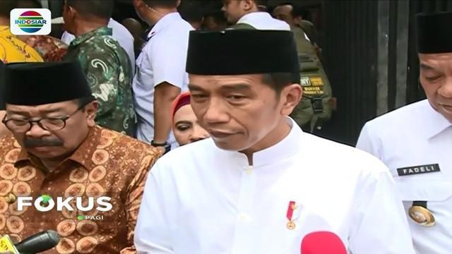 Jokowi blusukan ke Pasar Sidoharjo di Lamongan, Jawa Timur, ditemani istri serta Gubernur Jawa Timur. Jokowi menyatakan bahwa harga pokok akan tetap stabil hingga akhir tahun ini.