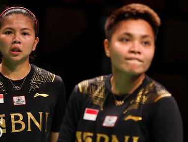 Langkah Indonesia untuk merebut gelar juara Piala Uber untuk keempat kalinya secara berturut-turut harus pupus di tangan Thailand. Skuat merah putih mengalami perlawanan sengit di lima partai perempatfinal yang berakhir dengan agregat 3-2 atas kemenangan Thailand. (Badminton Photo/Yohan Nonotte)