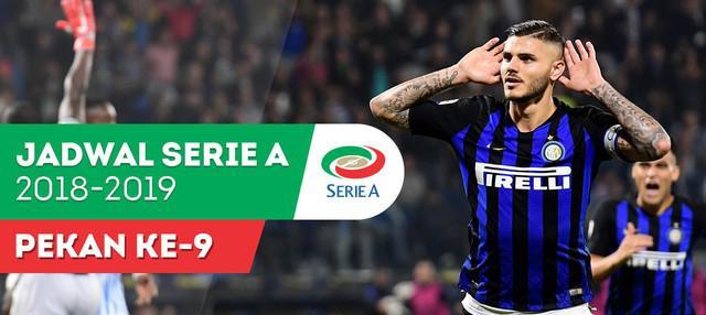 Berita video jadwal Serie A 2018-2019 pekan ke-9. Derbi Milan jilid pertama musim ini.