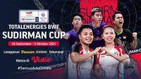 Tim Bulutangkis Indonesia di Piala Sudirman Cup 2021
