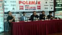 Politisi PDIP Effendy Simbolon mengatakan, pemerintahan Joko Widodo atau Jokowi-Ma'ruf Amin sangat mengutamakan stabilitas politik. (Merdeka.com/Ronald)