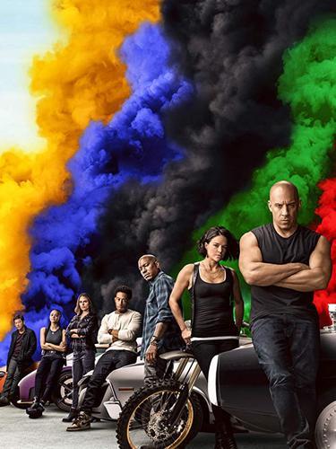 Poster film F9. (Foto: Dok. IMDb/ Universal Studios)