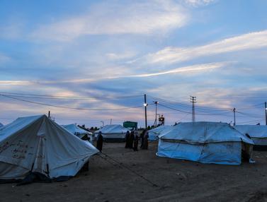 Aksi Protes, Warga Palestina Bangun Tenda di Sepanjang Perbatasan Israel