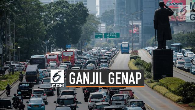 Nopol ganjil-genap menjadi salah satu cara Pemprov DKI Jakarta untuk mengurangi kemacetan.