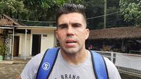 Fabiano Beltrame, bek Persib. (Bola.com/Erwin Snaz)