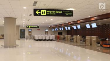 Ruang Check In dan Tunggu Bandara Internasional Yogyakarta