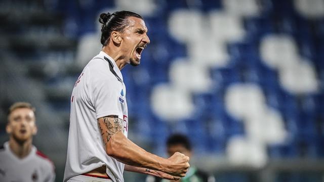 FOTO: Taklukkan Sassuolo, AC Milan Geser AS Roma dari Posisi Lima Klasemen
