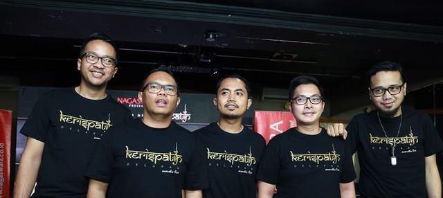 Duka Badai atas meninggalnya Dika Bassist band Kerispatih.