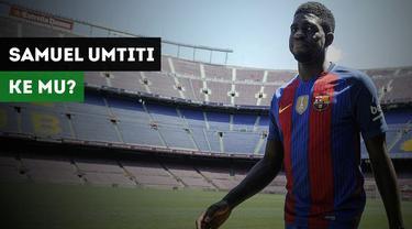 Gerard Pique enggan membahas rumor rekannnya, Samuel Umtiti, yang dikaitkan dengan Barcelona.