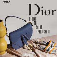 Behind The Scene Dior Photoshoot