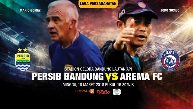 Streaming Persib: Live Streaming Indosiar: Persib Vs Arema