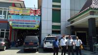 LBH Ansor Saat Mendatangi Dinas Kesehatan Kabupaten (DKK) Pati (Liputan6.com/Ahmad Adirin)
