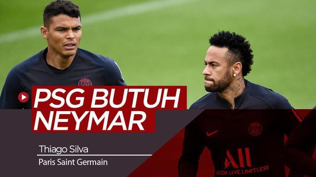 Berita Video Thiago Silva Berharap Neymar Tidak ke Barcelona atau Real Madrid