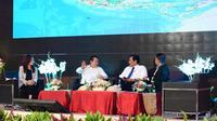 Ketua DPR RI Bambang Soesatyo menjadi pembicara di Seminar Nasional 'Kebijakan dan Koordinasi Bidang Maritim untuk Kesejahteraan Nelayan' di Gedung BPK RI.