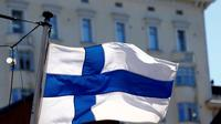Ilustrasi bendera Finlandia (AFP Photo)