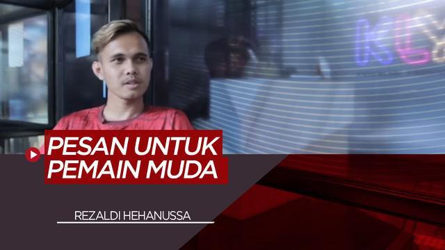 Berita Video Pesan Rezaldi Hehannusa, Pemain Muda Terbaik Liga 1 Indonesia untuk Pemain Muda di Persija