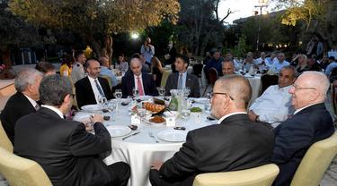 Presiden Israel Reuven Rivlin gelar buka bersama di Ramadhan 2021.
