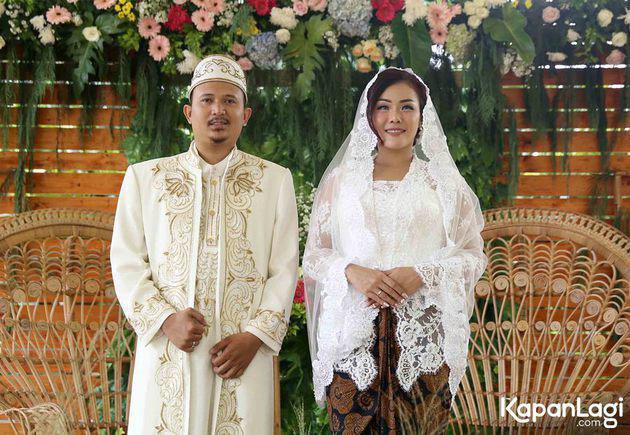 Selamat menempuh hidup baru Aiko dan Saugi. Semoga langgeng dan selalu bahagia!/Copyright KapanLagi.com/Bayu Herdianto/phi