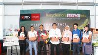 Bank DBS Indonesia Prakarsai Gerakan Recycle more, Waste less. foto: dok. Praxis