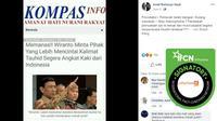 Cek Fakta - Wiranto Minta Pihak Yang Lebih Mencintai Kalimat Tauhid Segera Angkat Kaki dari Indonesia?