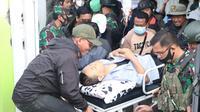Anggota Tim Gabungan Pencari Fakta (TGPF) Intan Jaya yang terluka akibat ditembak Kelompok Kriminal Bersenjata Papua telah dievakuasi ke Jakarta.