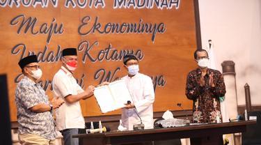 Ganjar Sapa Pendengar dan Penyiar Radio Daerah se-Indonesia