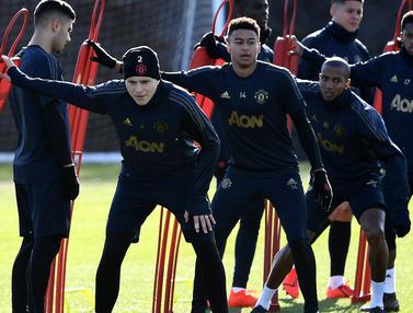Mengintip Latihan Manchester United Jelang Jamu PSG