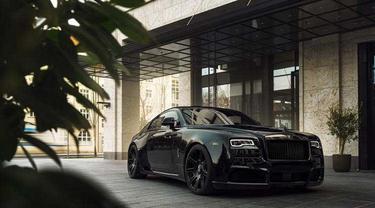 Roll-Royce Wraith ini dibanderol dengan harga Rp 5,4 miliar (Spofec)