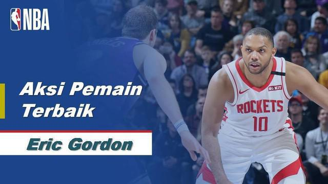 Berita Video Eric Gordon Bawa Houstin Rockets Menang Lawan Utah Jazz 126-117