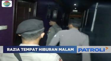 Menghindari penyakit masyarakat saat malam pergantian tahun, Polres Jombang razia hiburan masyarakat.