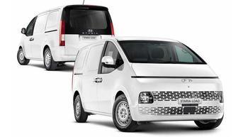 Begini Penampakan Hyundai Staria Versi Pengangkut Barang