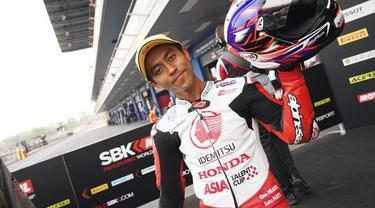 Afridza Munandar, pembalap muda asal Indonesia