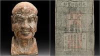 Patung-patung antik Buddha sendiri merupakan harta karun yang berharga, tapi temuan uang kertas ini merupakan hal yang unik. (Sumber Mossgreen)