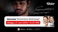 Saksikab Sinemania miniseri Sementara, Selamanya di aplikasi streaming Vidio