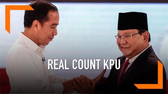 KPU terus melakukan perhitungan rekapitulasi Pilpres 2019. Hasil sementara Jokowi-Ma'ruf masih memimpin dengan raihan suara 56%.