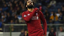 1. Mohamed Salah (Liverpool) - 21 gol dan 8 assist (AFP/Paul Ellis)