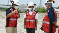 Menteri Investasi/Kepala Badan BKPM Bahlil Lahadalia mengunjungi Pabrik Soda Ash Petrokimia Gresik. Dok BKPM