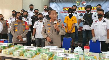 Polda Metro Jaya ungkap penyelundupan sabu seberat 44 kg