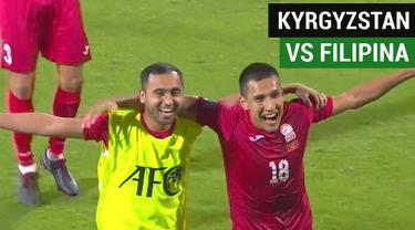 Berita video highlights Grup C Piala Asia 2019, antara Kyrgyzstan melawan Filipina yang berakhir dengan skor 3-1, Rabu (16/1/2019).