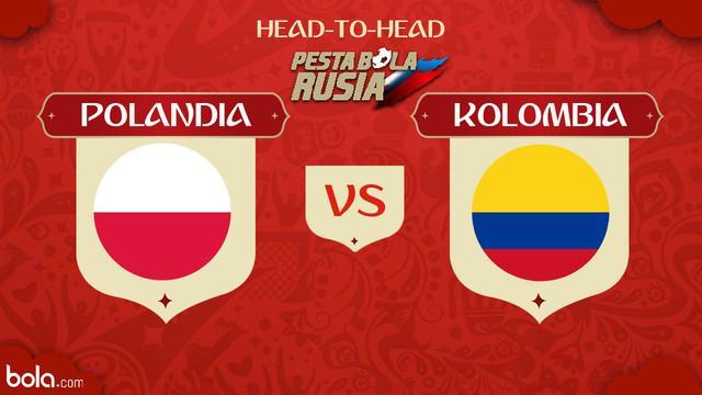 Berita video head-to-head Piala Dunia Rusia 2018: Polandia vs Kolombia.