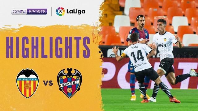 Berita Video highlights Liga Spanyol, Valencia berhasil menang 4-2 atas Levante