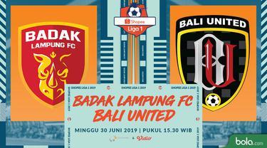 Perseru Badak Lampung FC Vs Bali United